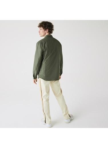 Lacoste Erkek Oversize Gömlek CH0948.FV9 Yeşil